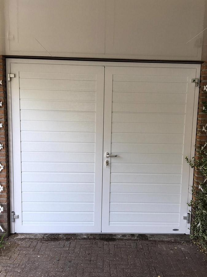 Garagedeuren Vaste pui