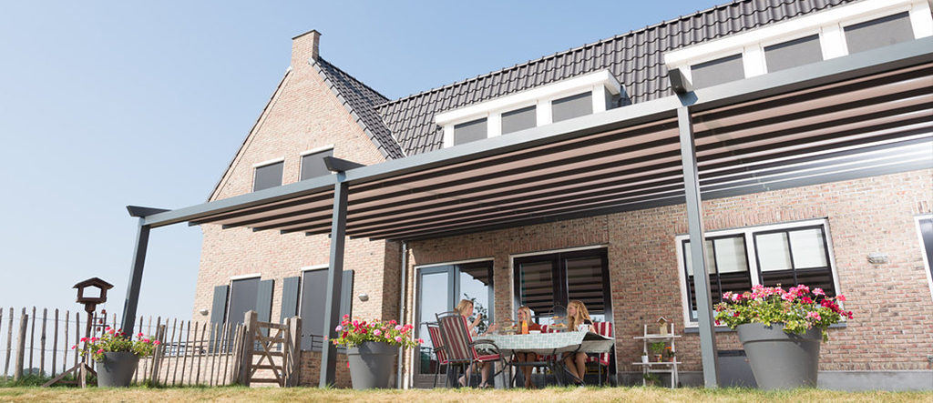Terrasoverkapping in Zwolle